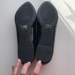 Aldo Shoes - Aldo Black Patent pointy toe flats size 38.5